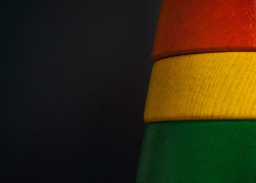 Reggae Flag Colors