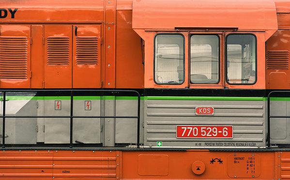 Locomotive - minimalist photography fine art print by Martin Vorel