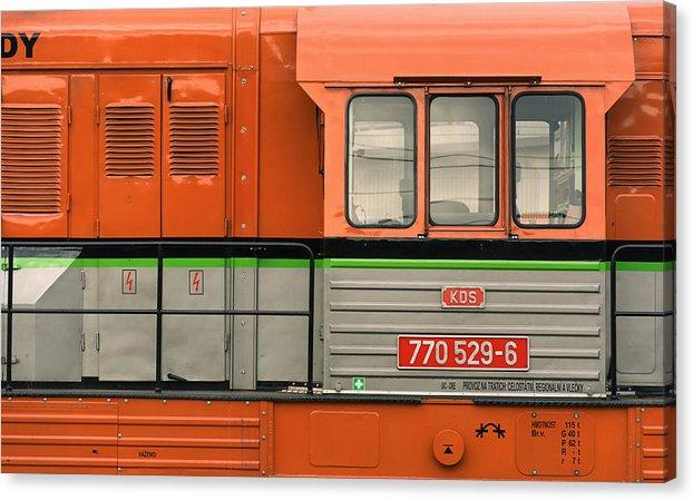 Locomotive canvas print 61cm x 38cm