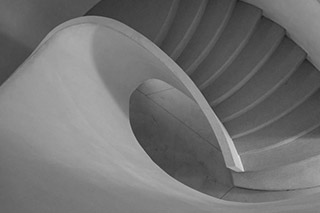 Fine art print without frame or mat - Curved Staircase