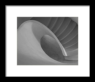 Horizontal aspect ratio - Curved Staircase – Fine Art Photogrphy Print