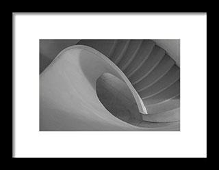 Original aspect ratio - Curved Staircase – Fine Art Photogrphy Print