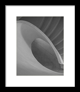 Vertical aspect ratio - Curved Staircase – Fine Art Photogrphy Print