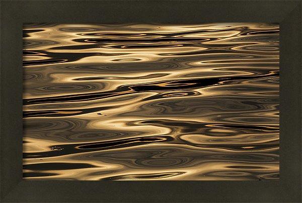 25cm x 16cm canvas print, matte finish canvas, 5/8 '' stretcher bars (white sides) with metal matte frame.