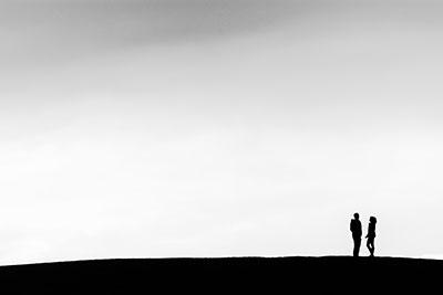 Minimalistický Fotoobraz - Siluety